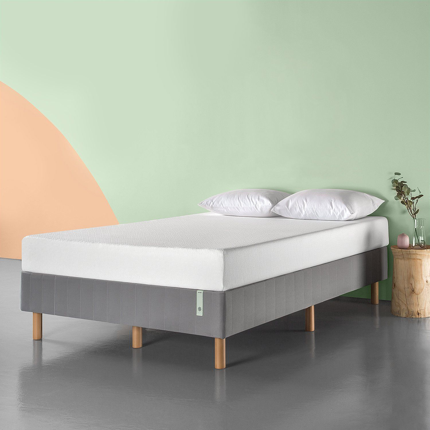 135.64 Upholstered bed frame, Bed frame mattress
