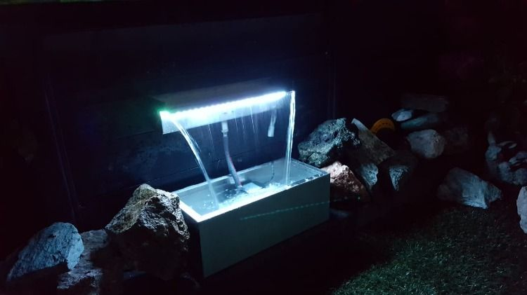 Tekening Rvs Waterval.Custom Rvs Waterval Aquaflow Op Maat Gemaakt Onze Aqauflow