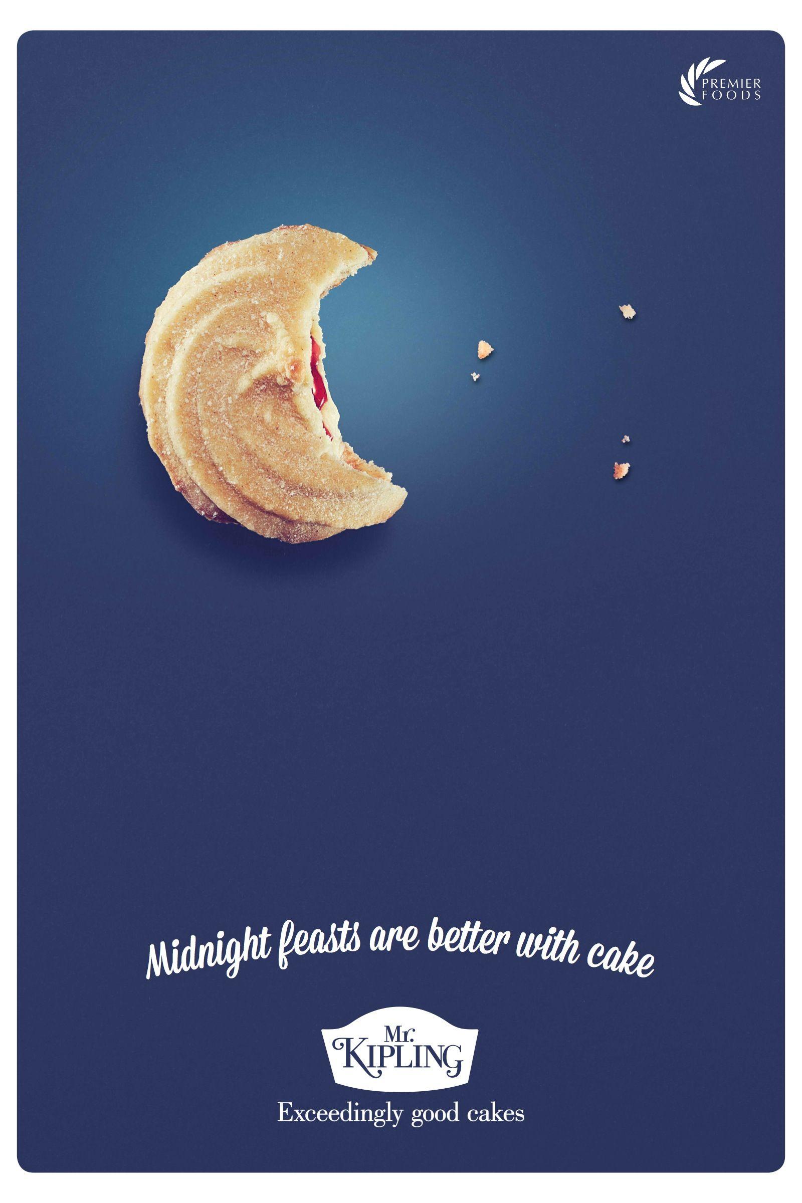 Mr kipling exceedingly good cakes ads creative food