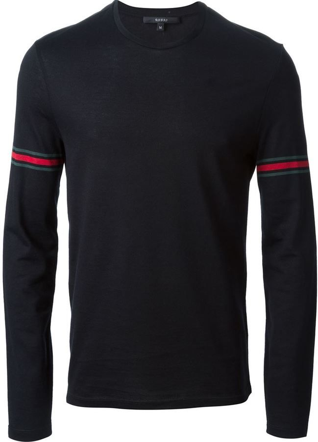 bdfbe1fd4f5 Gucci long sleeve T-shirt | grown & sexy! | Designer clothes for men ...