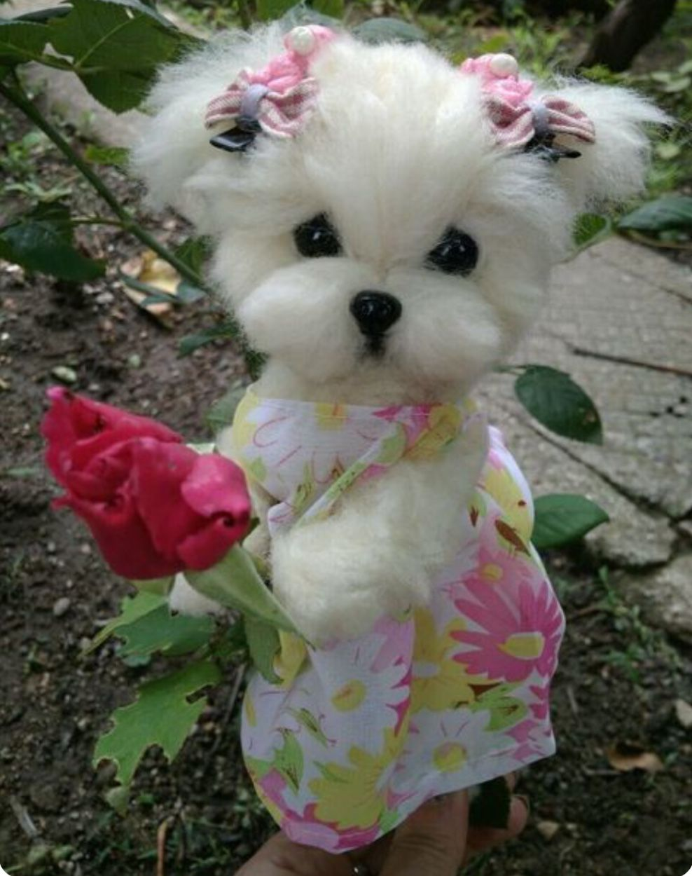 Pin By Adriana Benavidez On Just Too Cute Puppy Love Maltese Puppy Dog Purse Baby Dogs