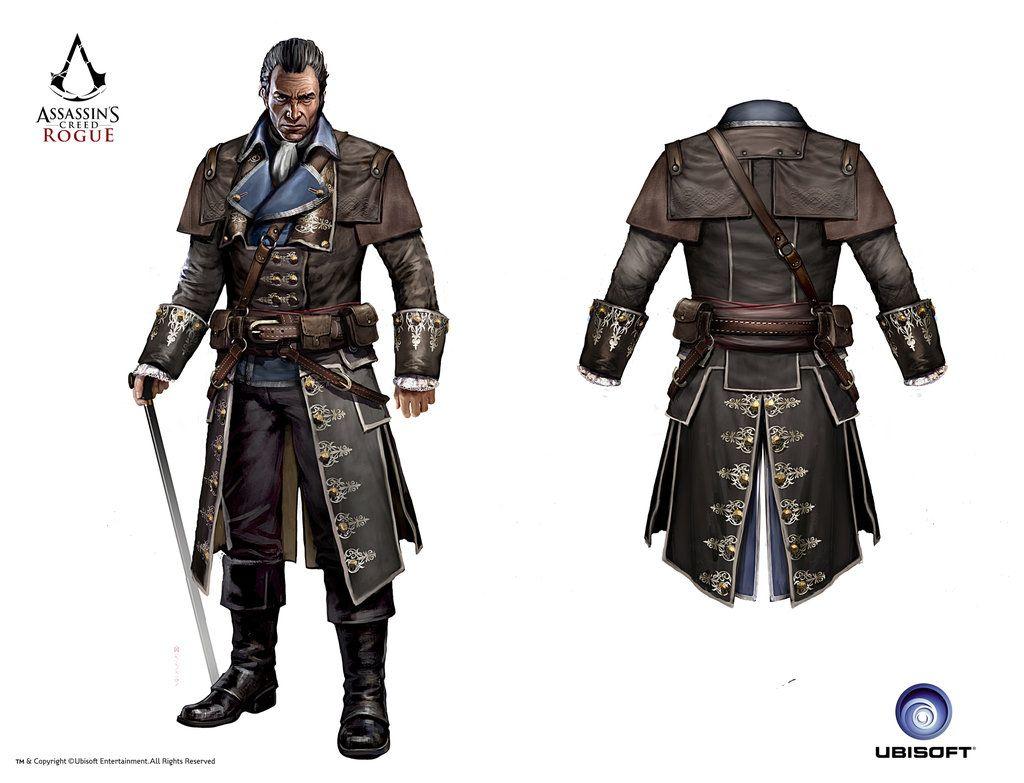 ACC Rogue Shay Versailles  Assassins creed rogue, Assassins creed