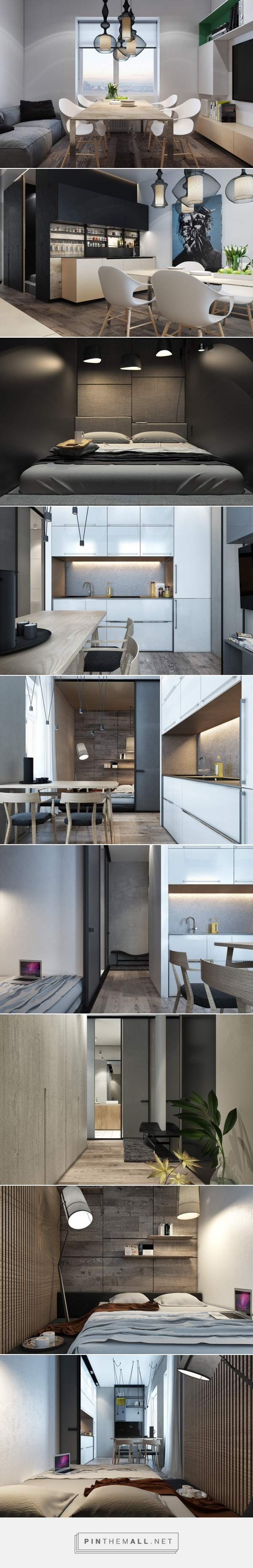 Designing For Small Spaces Beautiful Micro Lofts Created Via - Designing for small spaces 3 beautiful micro lofts