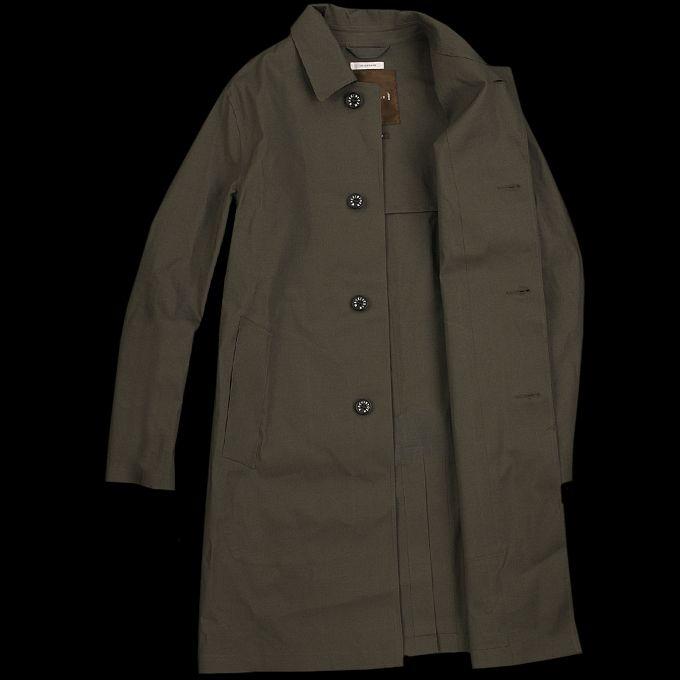 UNIONMADE - Mackintosh - Dunkeld Coat in Dark Bottle