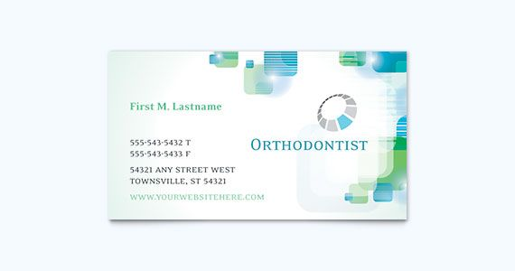 dentist business card design idea inspiration pinterest