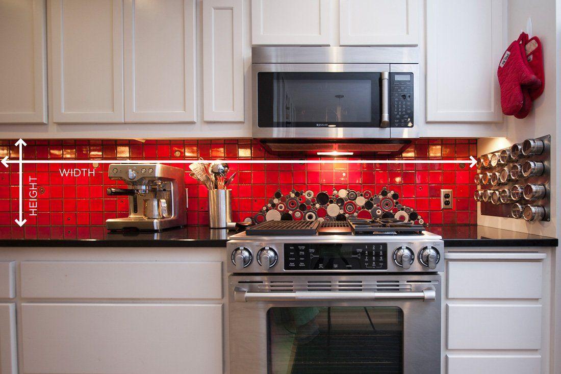 How to measure your kitchen backsplash kitchen interior
