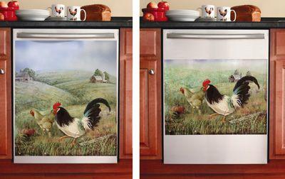 Rooster Magnet ~ Dishwasher or Refrigerator Magnet