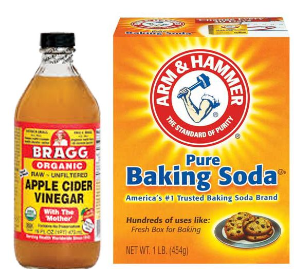 Natural Beauty Baking Soda And Apple Cider Vinegar Face Mask