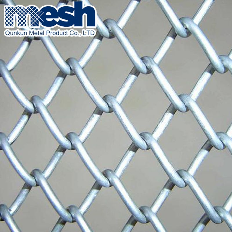 Diamond Woven High Strength Chain Link Curtain Fence Chain Link