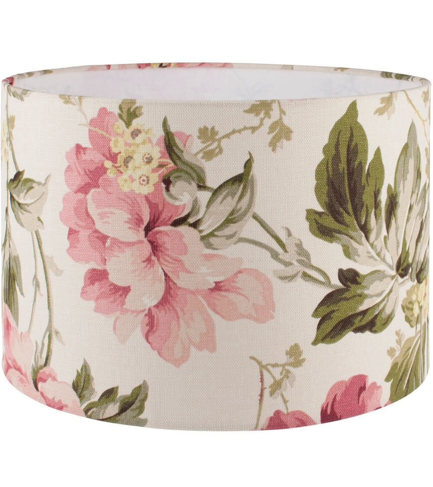 Laura ashley peony cranberry lampshade rooms furnishings etc laura ashley peony cranberry lampshade aloadofball Images
