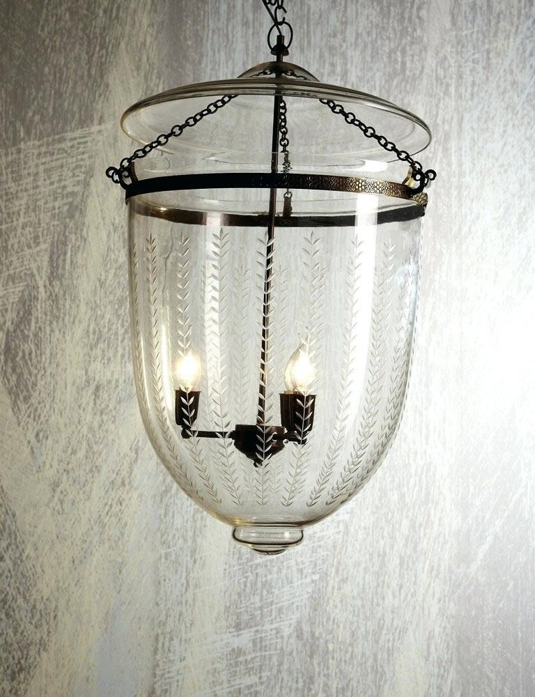 Lantern And Bell Jar Large Vertical Clear Leaf Pendant Light English Country Home Jar Pendant Light Metal Pendant Light Large Lanterns