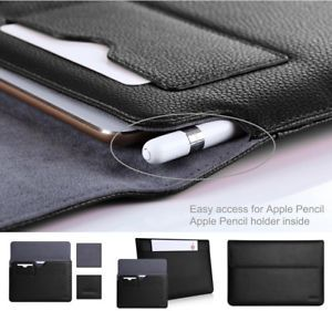 Ipad Pro 12.9 Case With Pencil Holder Extraordinary Ipad Pro 129 Case Luxury Gift Leather Cover Magnetic Apple Pencil Inspiration
