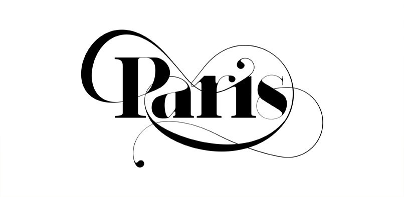 Hype For Type Paris Fashion Typography Typographic Poster