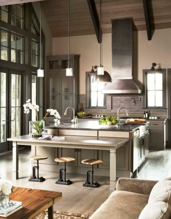 Unusual Kitchen Stool Designs To Be Used As Focal Points Gorgeous Kitchen Designs With High Ceilings Review