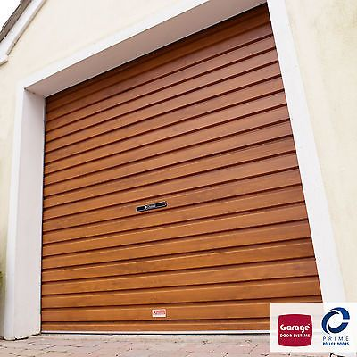 GDS Duraroll Roller Garage Door To Fit 7x7 Opening (GOLDEN OAK)