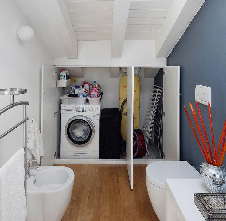 Pin de Anna caterino em Lavatrice in bagno piccolo ...