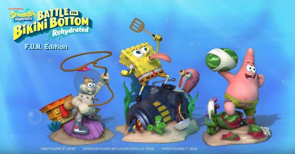 Spongebob Squarepants Battle For Bikini Bottom Rehydrated Gets Pricey Special Editions Spongebob Squarepants Squarepants Spongebob Games