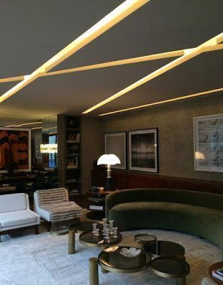 Adding Some Led Strip Lights Becomes More Popular Glow Your Space By Installing Led Strips On The Ceiling W False Ceiling Design Ceiling Design False Ceiling