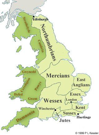 Map Of Uk 1000.Maps 500 1000 History History Of England Map Of Britain