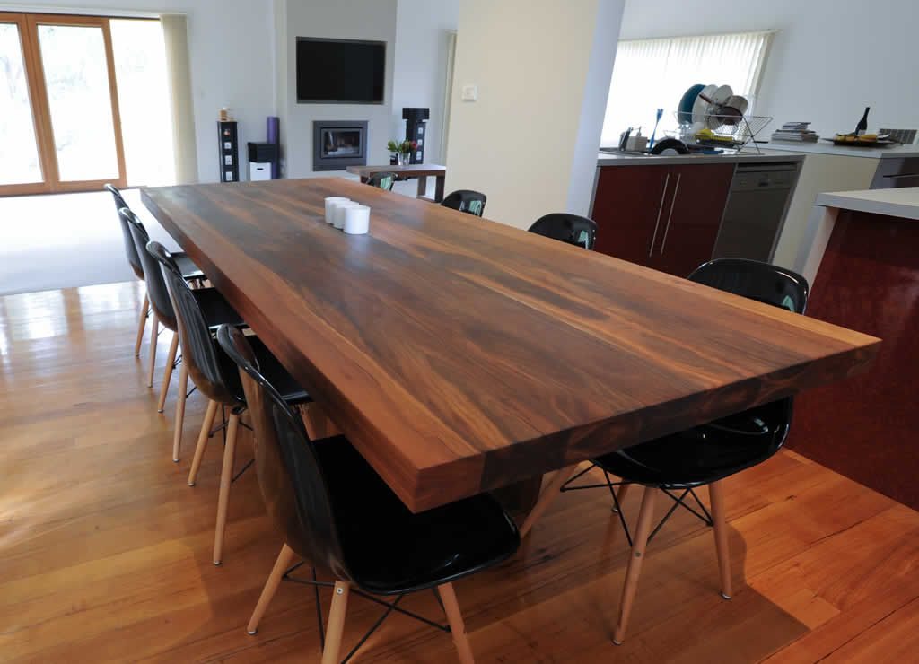 Spotted Gum Would Be A Nice Table Top Also Fsc Approved Dining