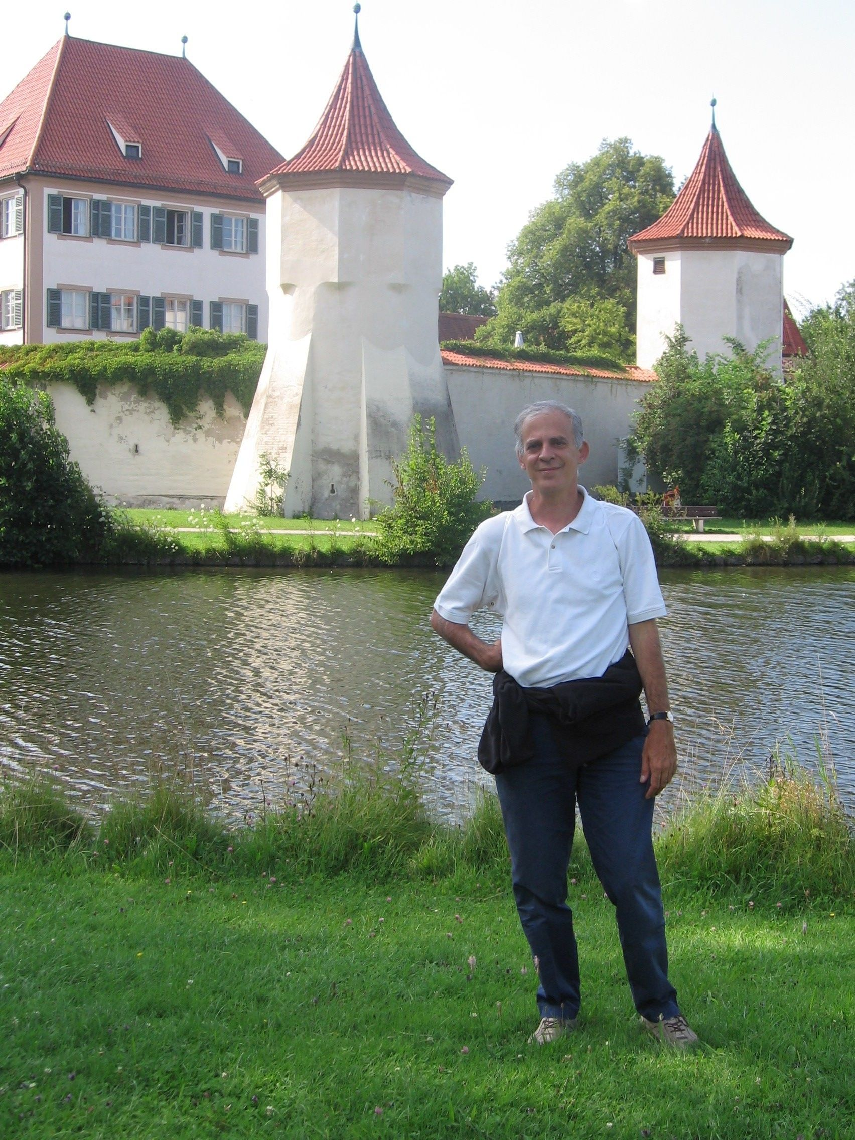 Il castello di Blutenburg a Monaco dove è conservata la biblioteca personale di Michael Ende