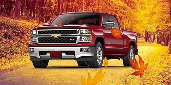 This fall, get your hands on the wheel of a new Silverado- a truck you can depend on for all your harvesting needs. http://goo.gl/lffZcQ