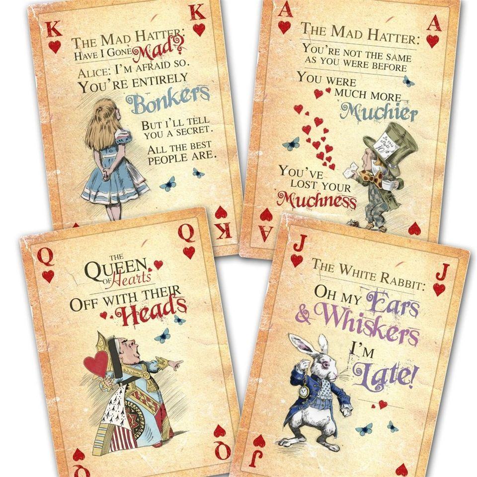 Красивые колоды игральных карт | Безумный шляпник, Винтаж ...