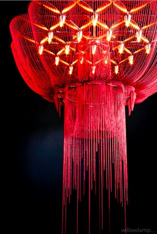 Willowlamp- Flower of Life Chandelier: There are so many gorgeous chandeliers on this site! Truly works of art.