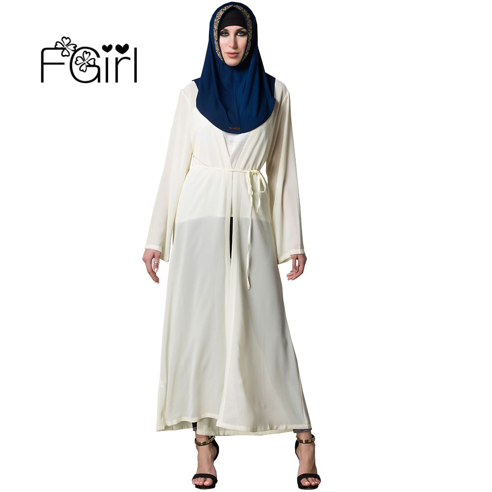 FGirl Abaya Muslim Dress Middle East Arab Dubai Muslim Clothes ...