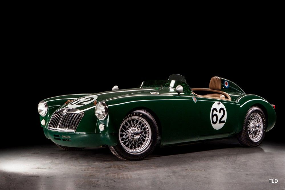 1959 MG MGA - Le Mans New cogs/casters could be made of cast ...