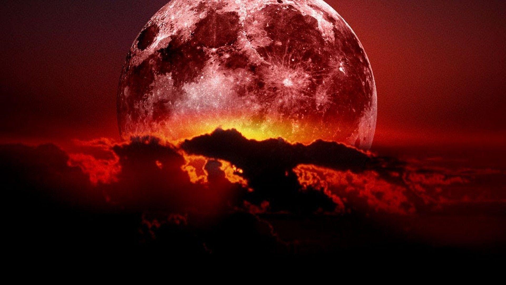 Wallpaper Lunar Eclipse
