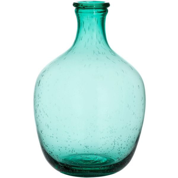 Hm Large Glass Vase 13 Liked On Polyvore Featuring Home Home