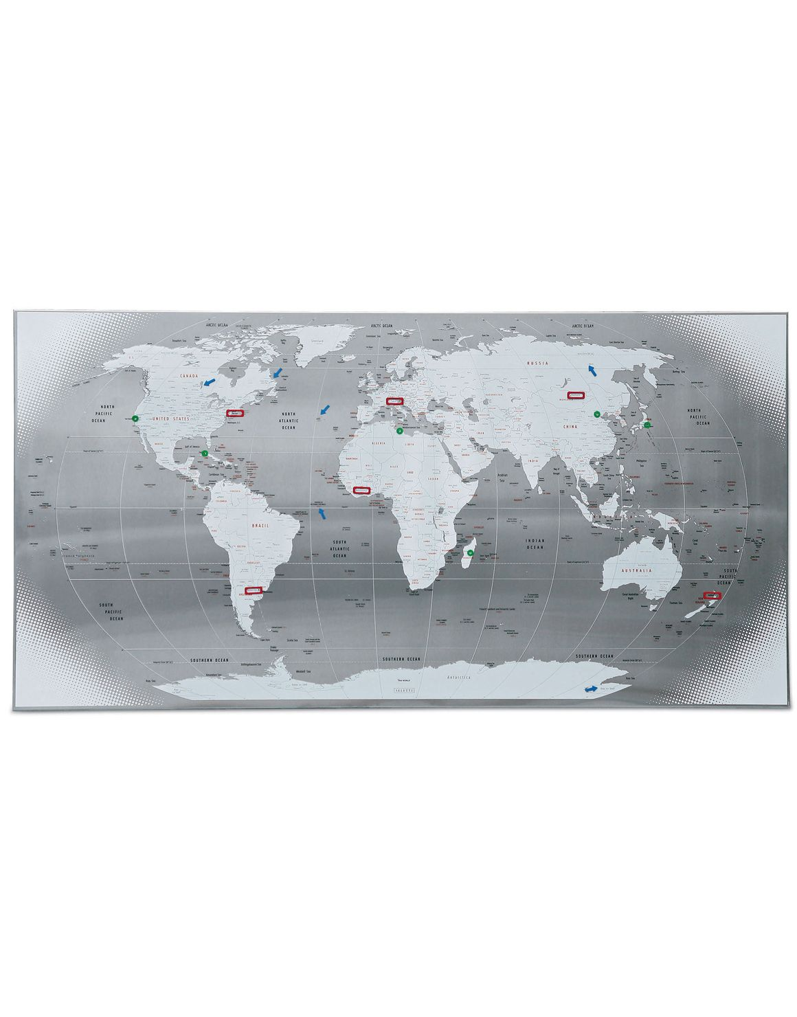 Seletti the world steel map with magnets talking about me seletti the world steel map with magnets gumiabroncs Images