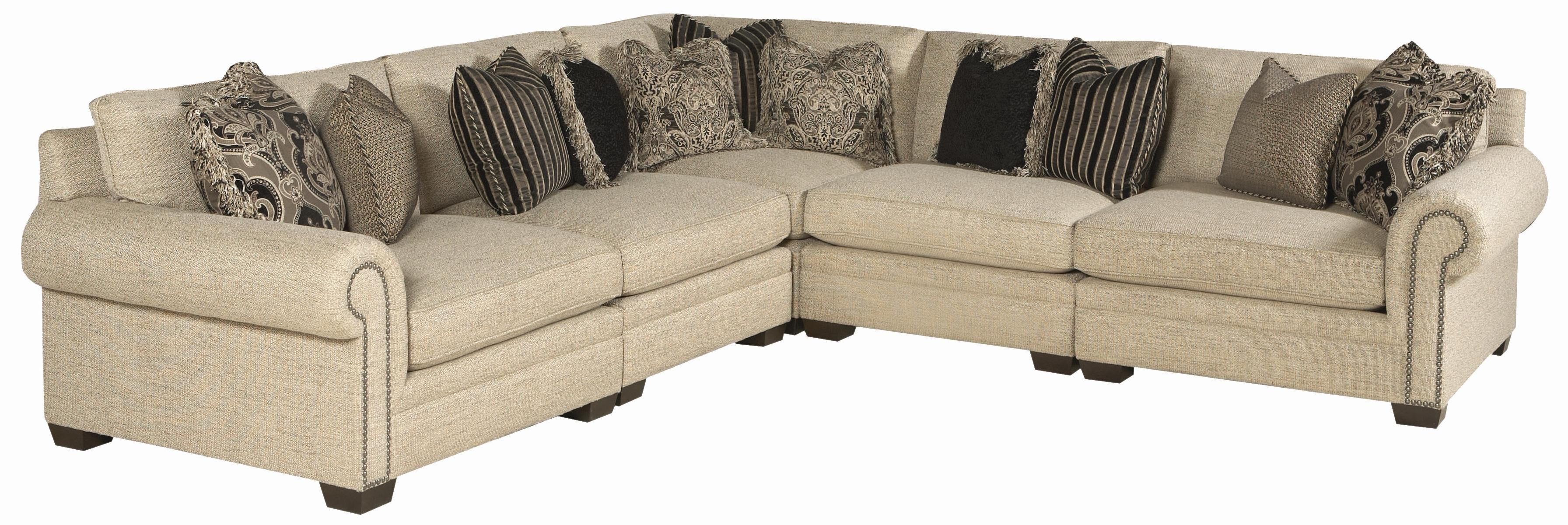 Grandview 5 PieceTraditional Sectional Sofa By Bernhardt   Sprintz Furniture    Sofa Sectional Nashville, Franklin