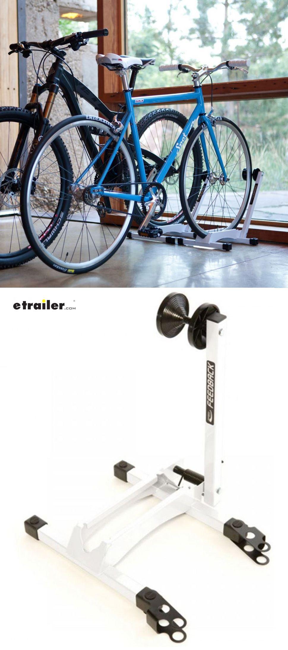 Feedback Sports RAKK Bike Storage Stand   White   1 Bike