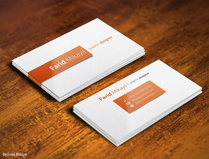 Free business card mockup by farid mikayil mockup pinterest free business card mockup by farid mikayil reheart Images