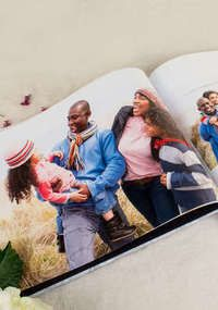 Personalized Hardcover 1-Click Photo Book : Collage.com