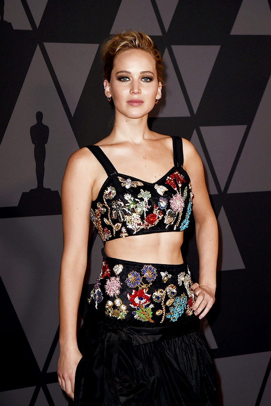 b07913e0ac6a2 Jennifer Lawrence attends the Academy of Motion Picture Arts and Sciences   9th Annual Governors Awards on November 11
