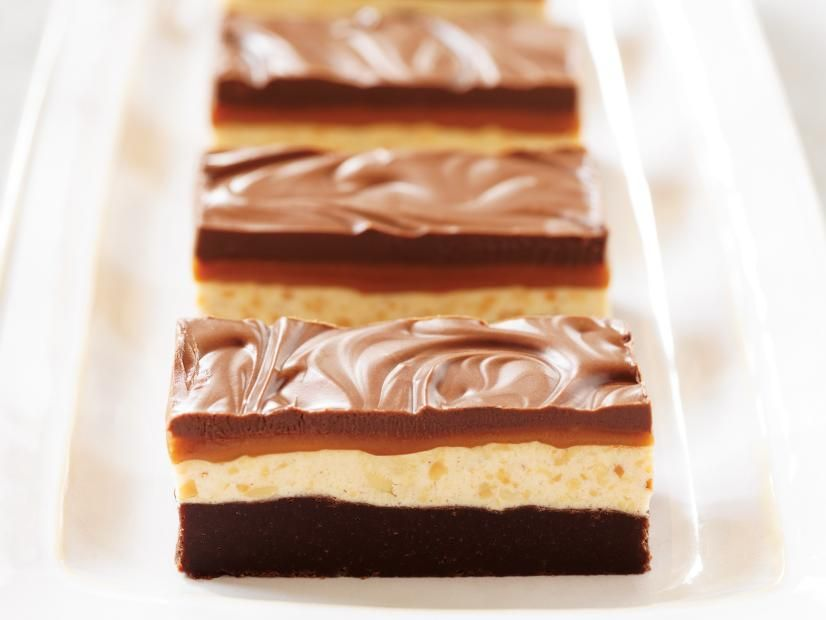 Chocolate caramel commotion bars recipe dessert bars