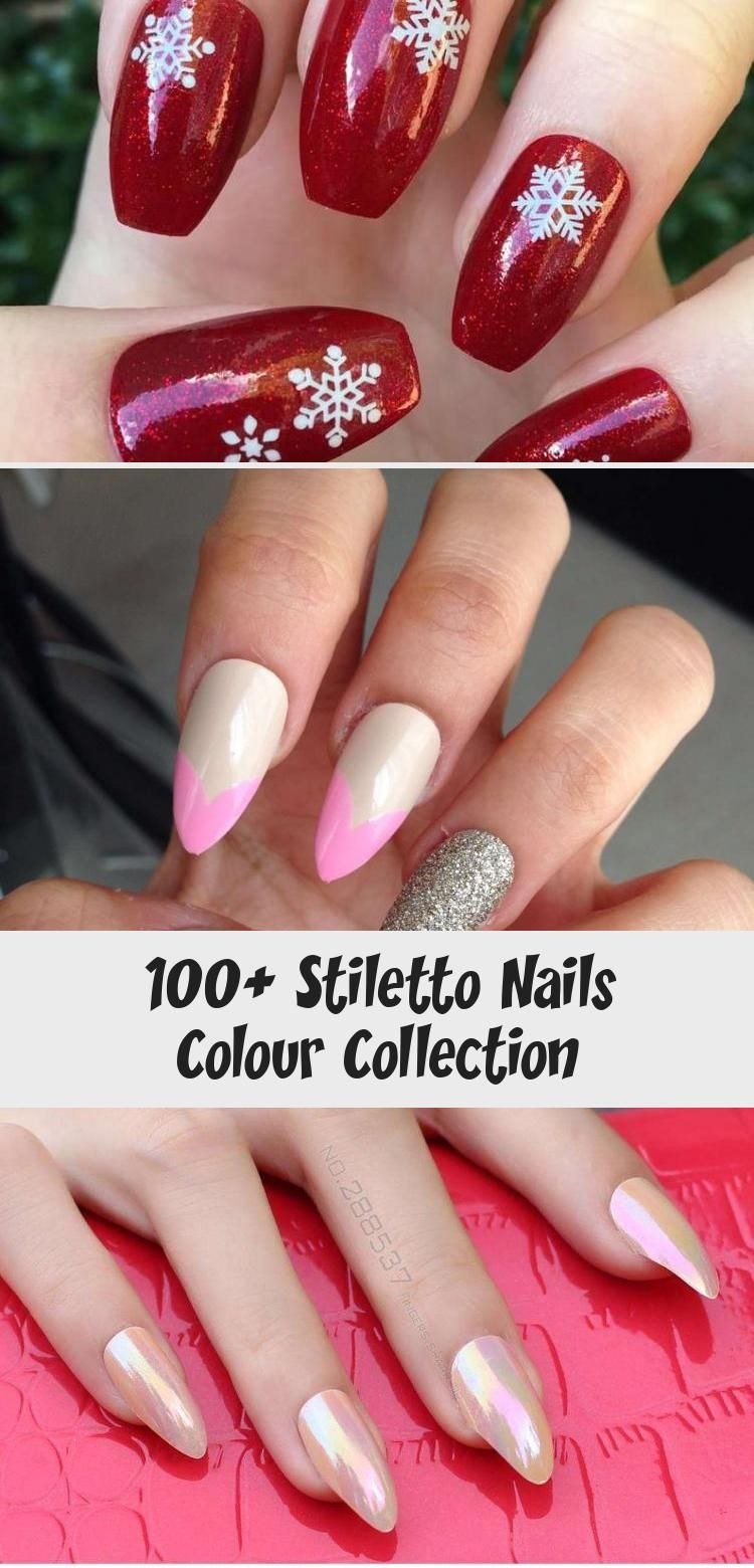 Photo of 100+ Stiletto Nails Colour Collection – Nail Art