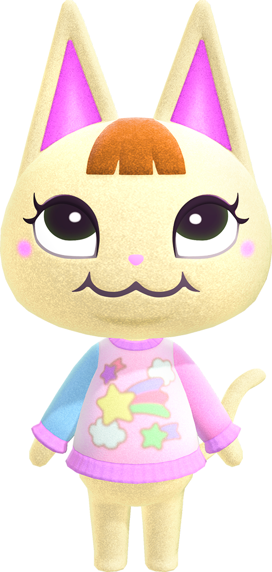 Merry Is A Peppy Cat Villager From The Animal Crossing Series She First Appeared In Doubutsu No Animal Crossing Cats Animal Crossing Villagers Animal Crossing