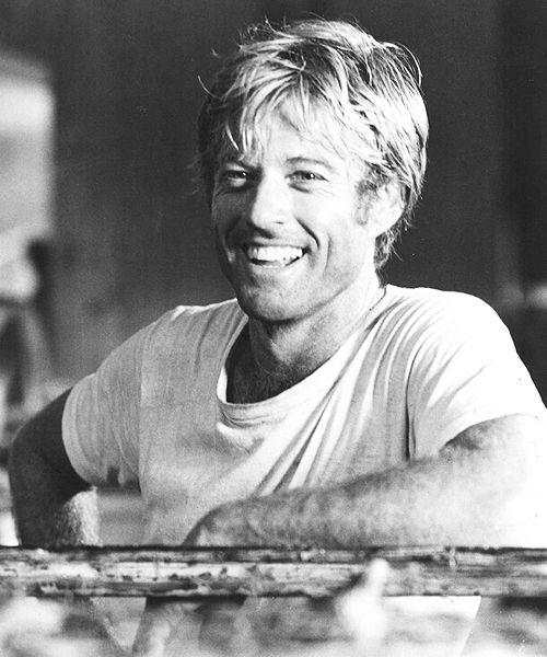 Robert Redford. All american smile, al time classic.