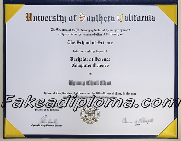 How Much For A Fake Usc Diploma Get Usc Bachelor Degree