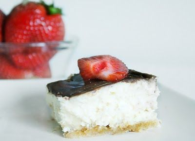 Bella Before and After: GUEST Post ~ Eye See ~ VANILLA BEAN CHEESECAKE BARS ~
