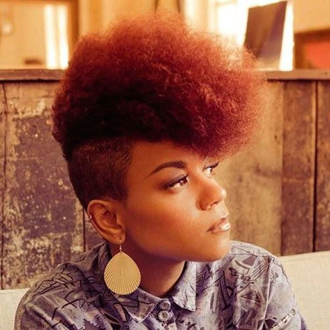 12 80s Hairstyles That Are Like Totally Popular Again Natural Hair Styles Mohawk Hairstyles Short Natural Hair Styles