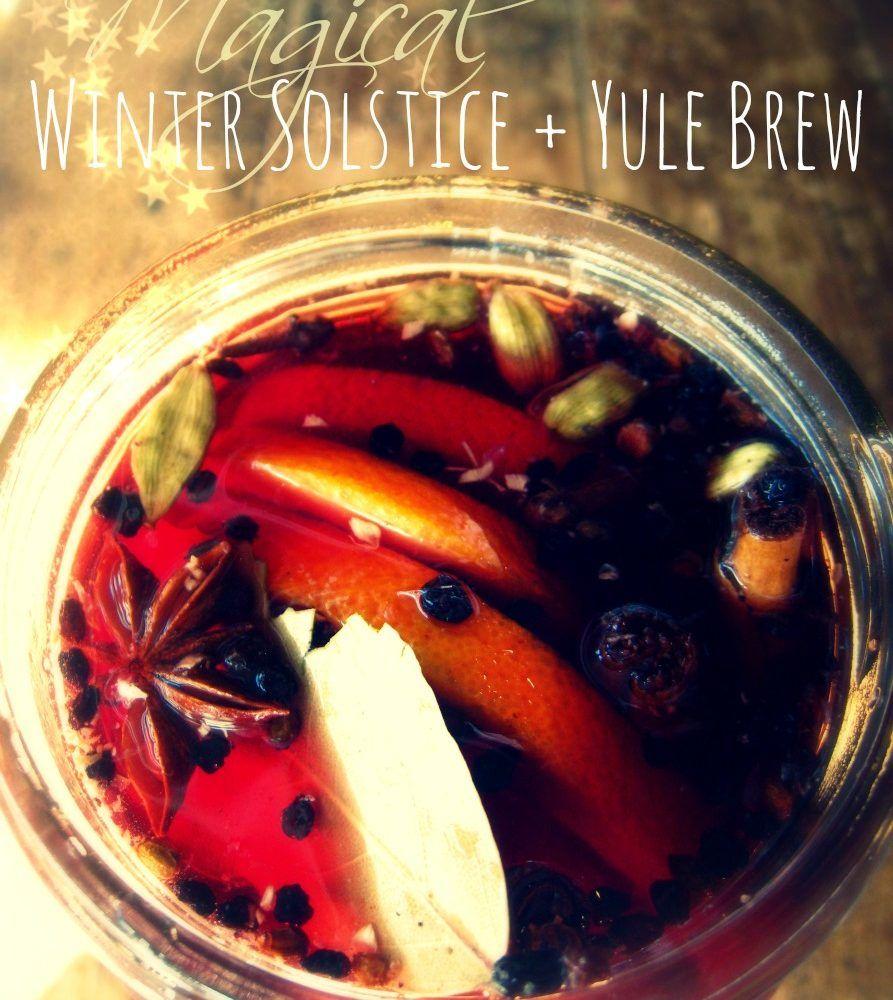 Holiday Yule Wine Recipe Wine Recipes Yule Winter Solstice Celebration