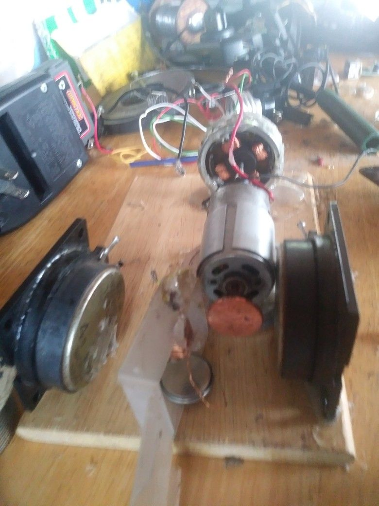 Building self powered motor and generaters less the magnatic