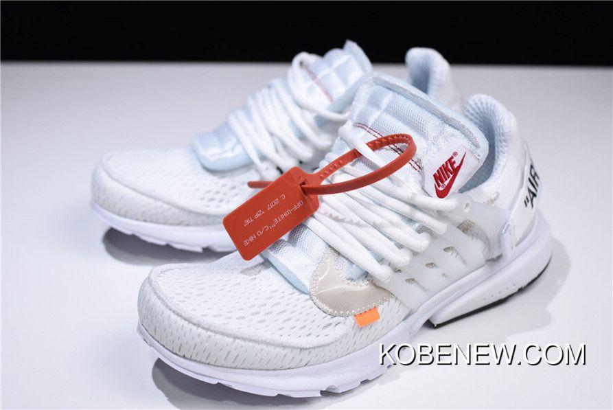 2802d48391c7 Off-White X Nike Presto White Black-Cone AA3830-100 New Release ...