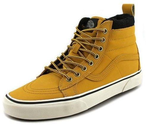 5c61fc2429 Vans Sk8-Hi MTE Men US 8 Yellow Sneakers