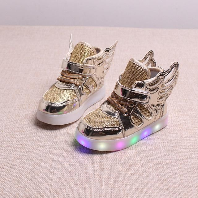 Kids Luminous WING LED Sneakers